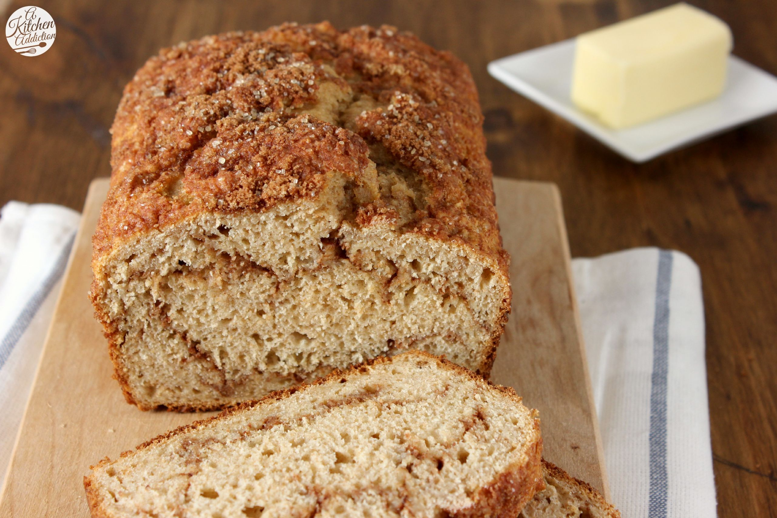 Cinnamon Quick Bread  Cinnamon Swirl Yogurt Quick Bread A Kitchen Addiction