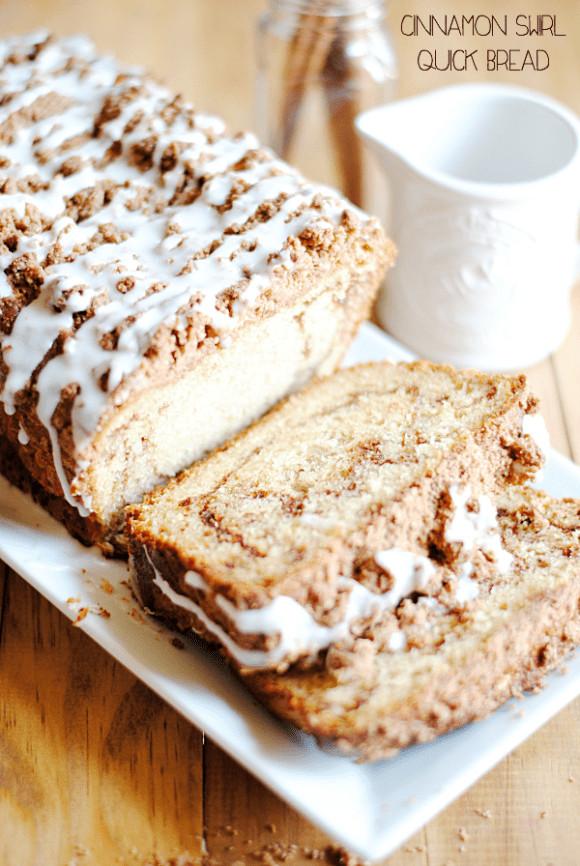Cinnamon Quick Bread  Cinnamon Swirl Quick Bread Something Swanky