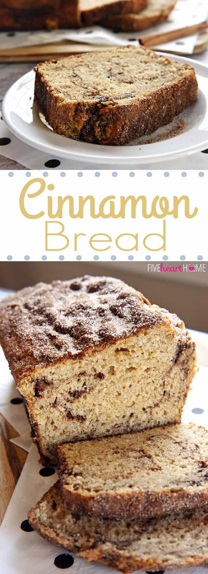 Cinnamon Quick Bread  Cinnamon Bread No Yeast Quick Bread
