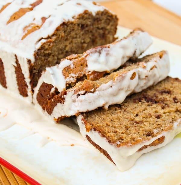 Cinnamon Quick Bread  Maple Cinnamon Quick Bread The Food Charlatan