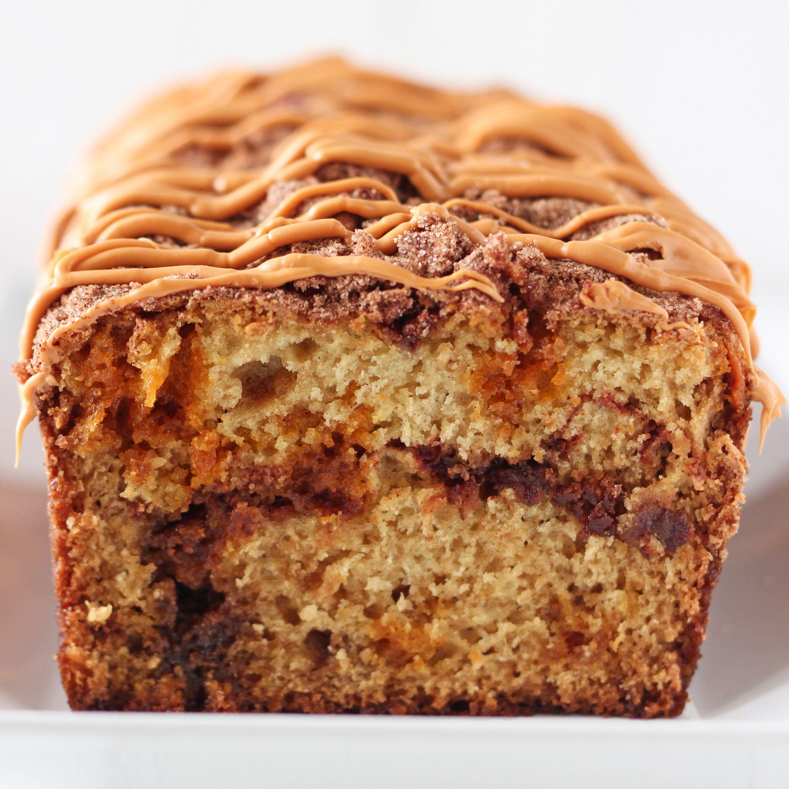 Cinnamon Quick Bread  Butterscotch Cinnamon Swirl Quick Bread Handle the Heat