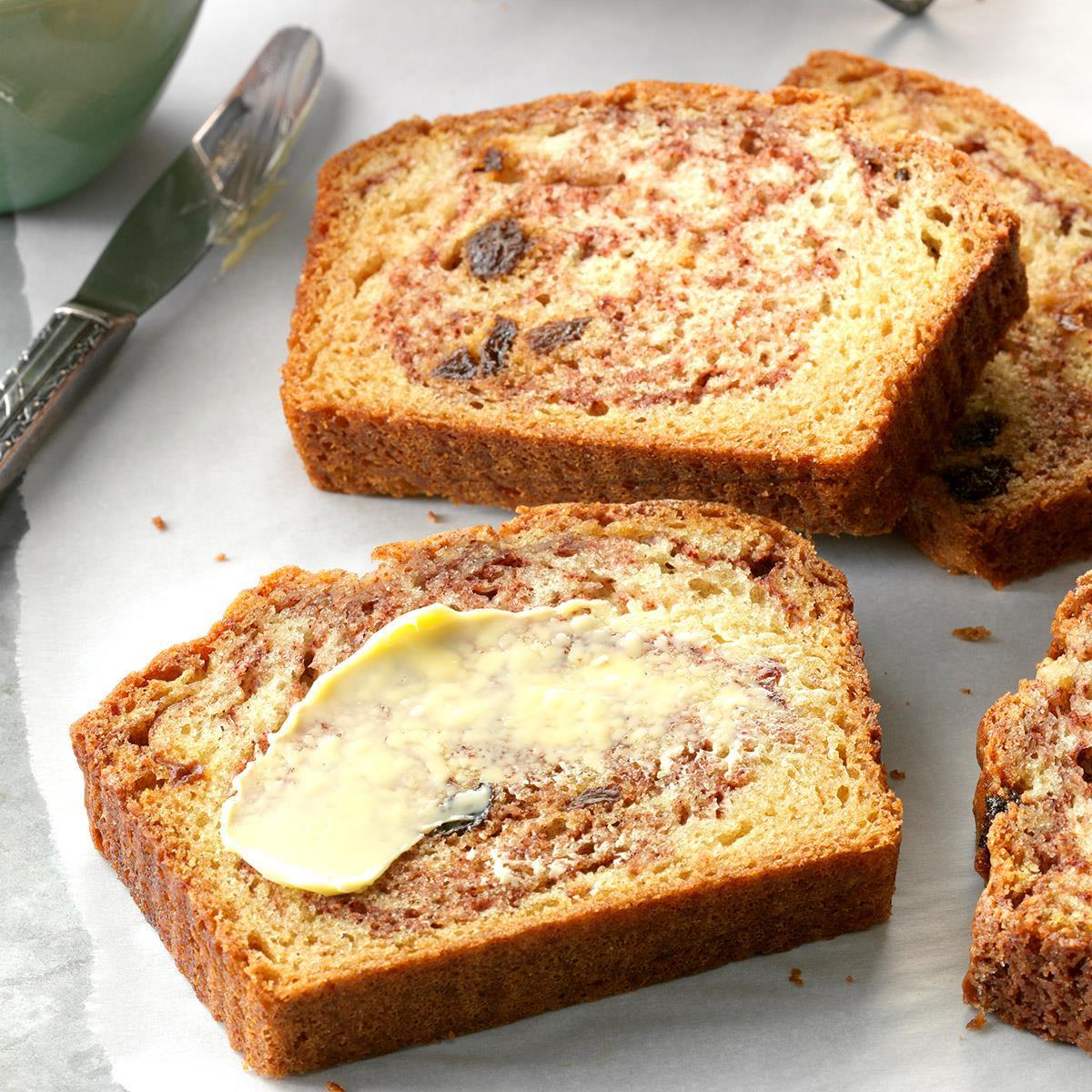 Cinnamon Quick Bread  Cinnamon Raisin Quick Bread Recipe