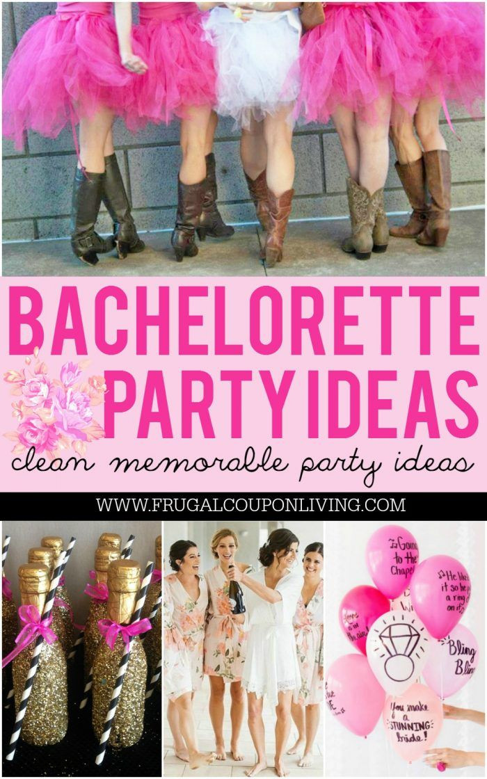 Clean Bachelorette Party Ideas  1530 best images about BEST of Frugal Coupon Living on