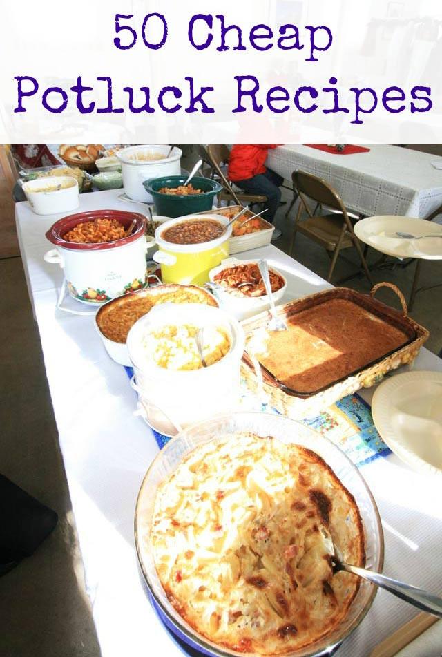 Cold Vegetarian Potluck Recipes  50 Cheap Potluck Recipes – Cheap Recipe Blog