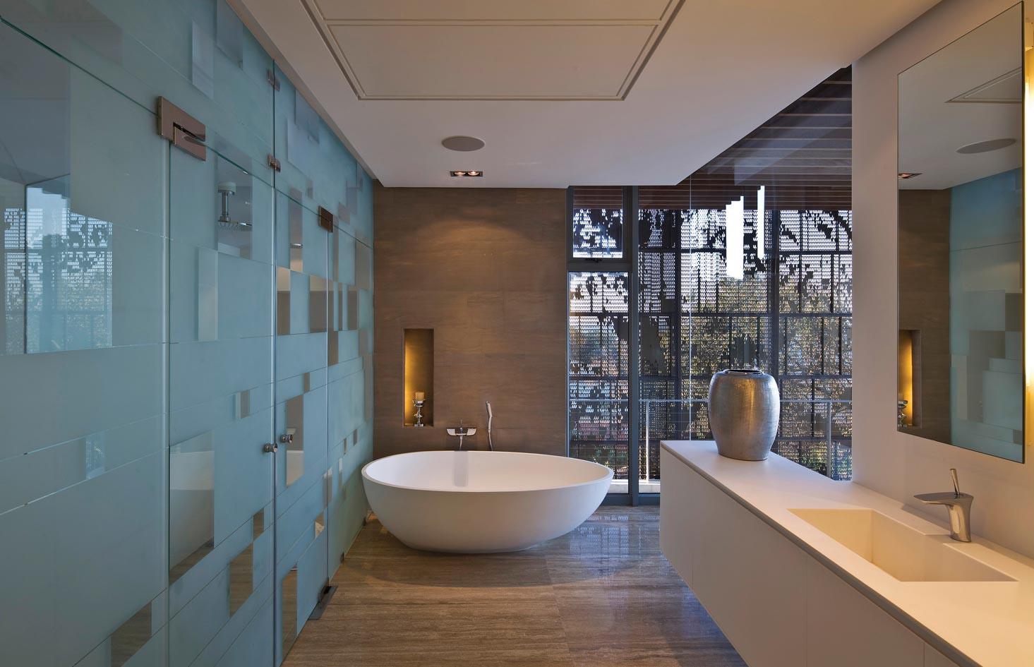 Contemporary Bathroom Design  Contemporary Cocoon House