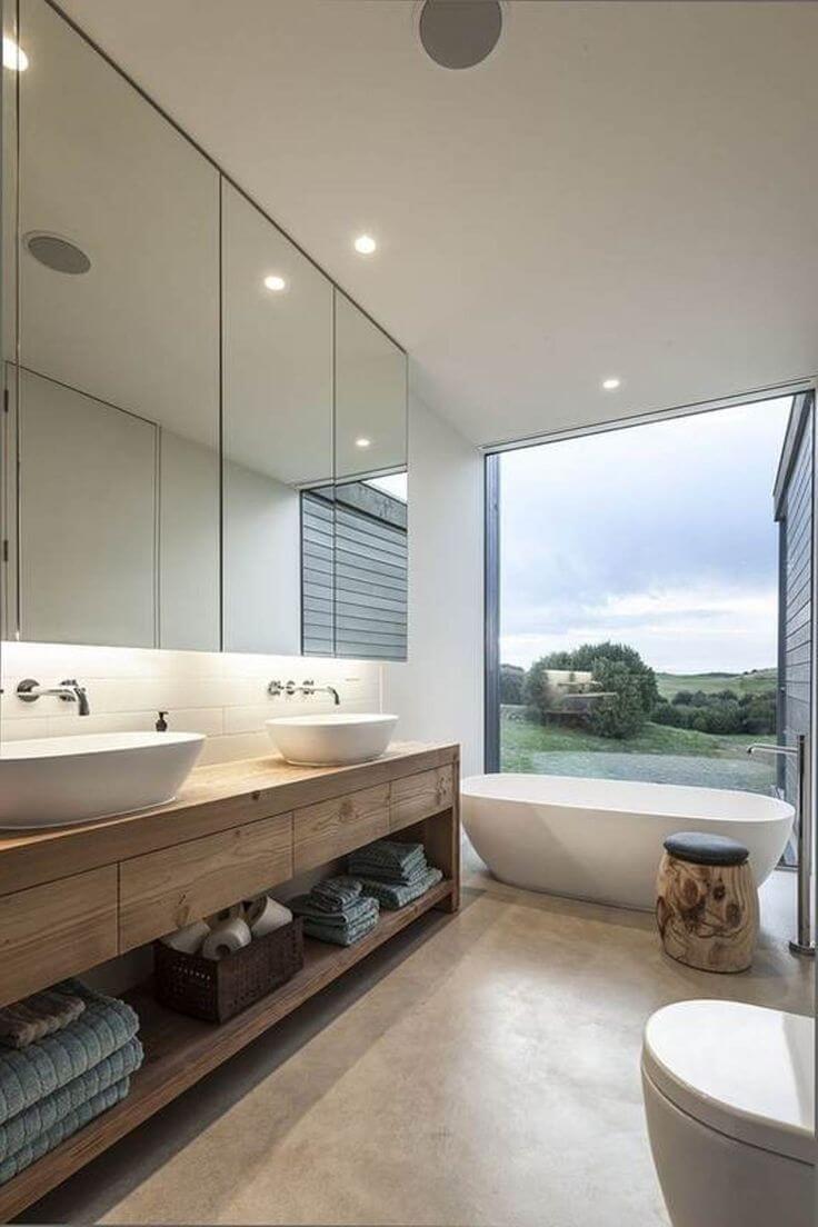 Contemporary Bathroom Design  Best 80 Modern Bathroom Design 2017 For Your Home