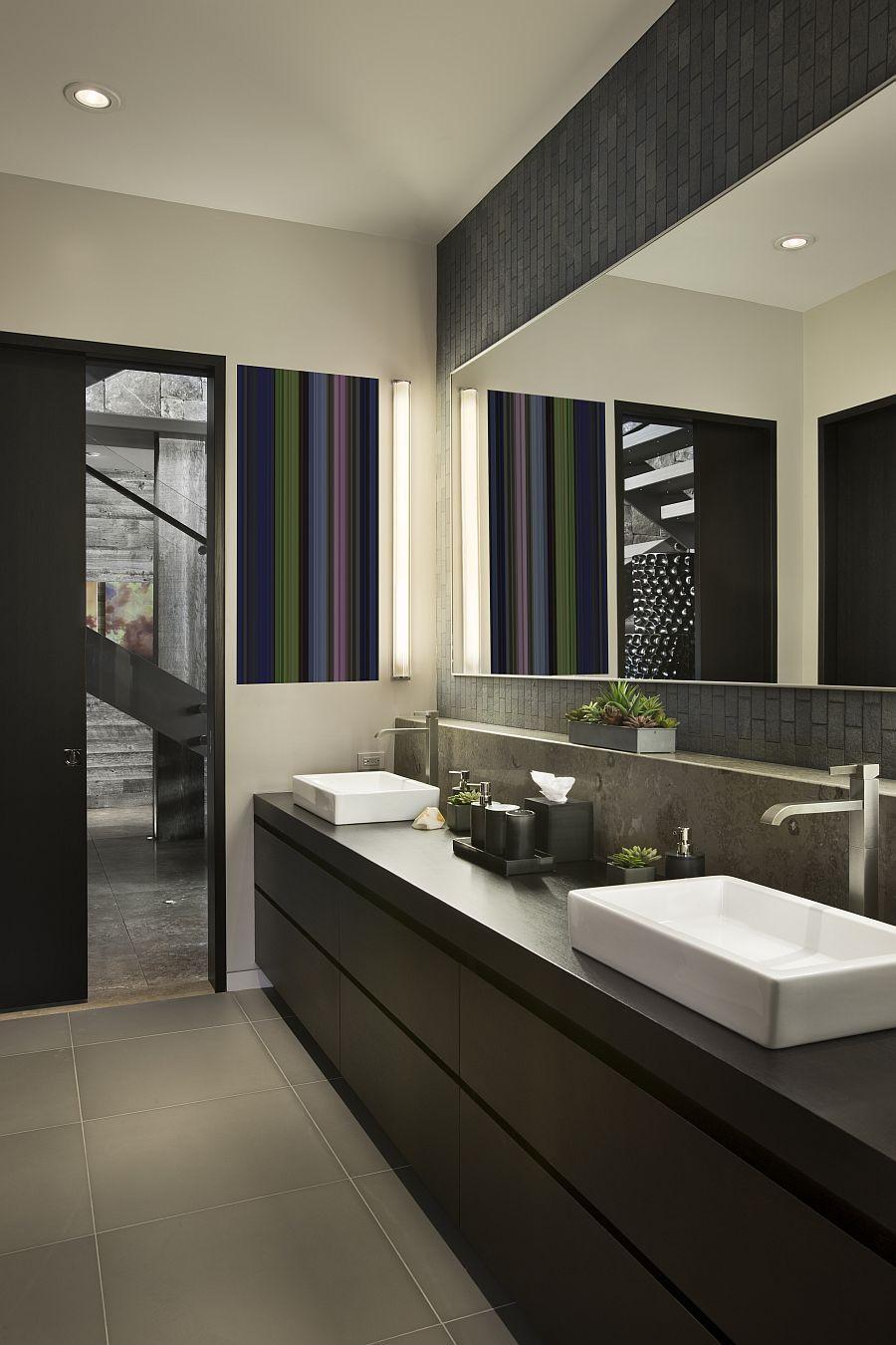 Contemporary Bathroom Design  Guest Bathroom Ideas with Pleasant Atmosphere Traba Homes