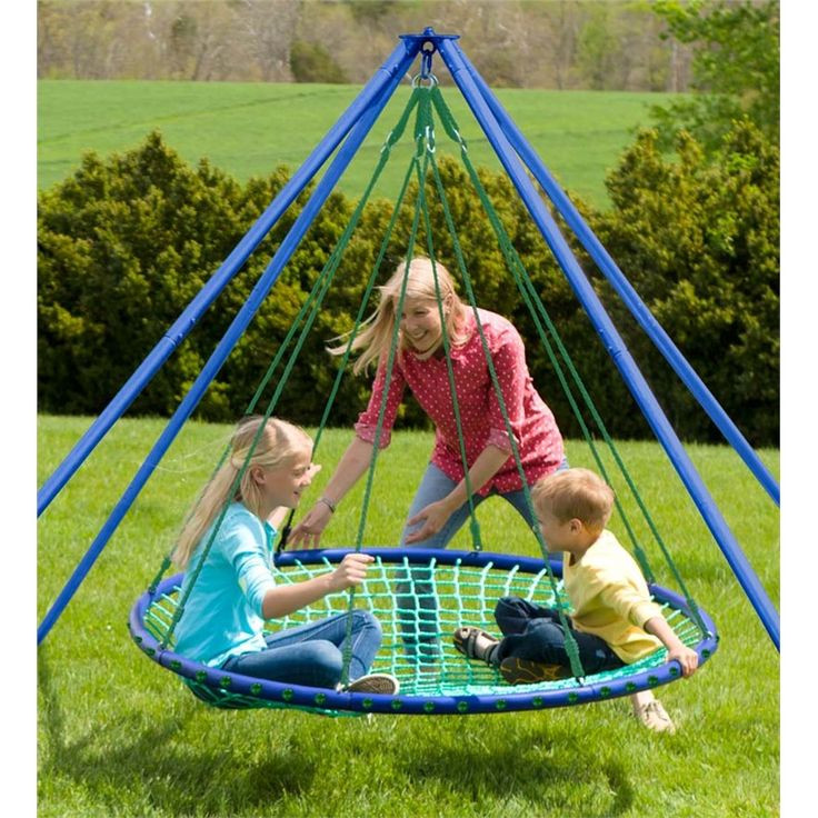 Cool Outdoor Toys For Kids  Sky Island Platform Swing Outdoor Play Toys