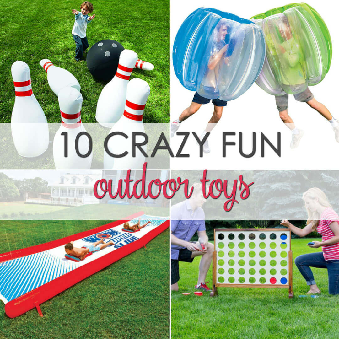 Cool Outdoor Toys For Kids  10 Crazy Fun Outdoor Summer Toys for All Ages