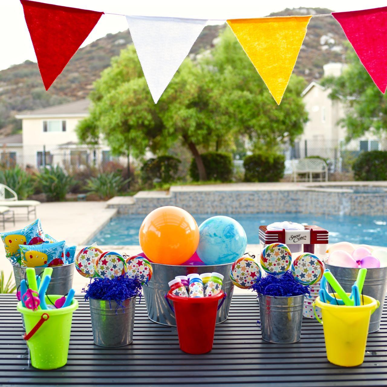 Cool Summer Party Ideas  Fun Kids Summer Party Ocean Sensory Bin Make Life Lovely