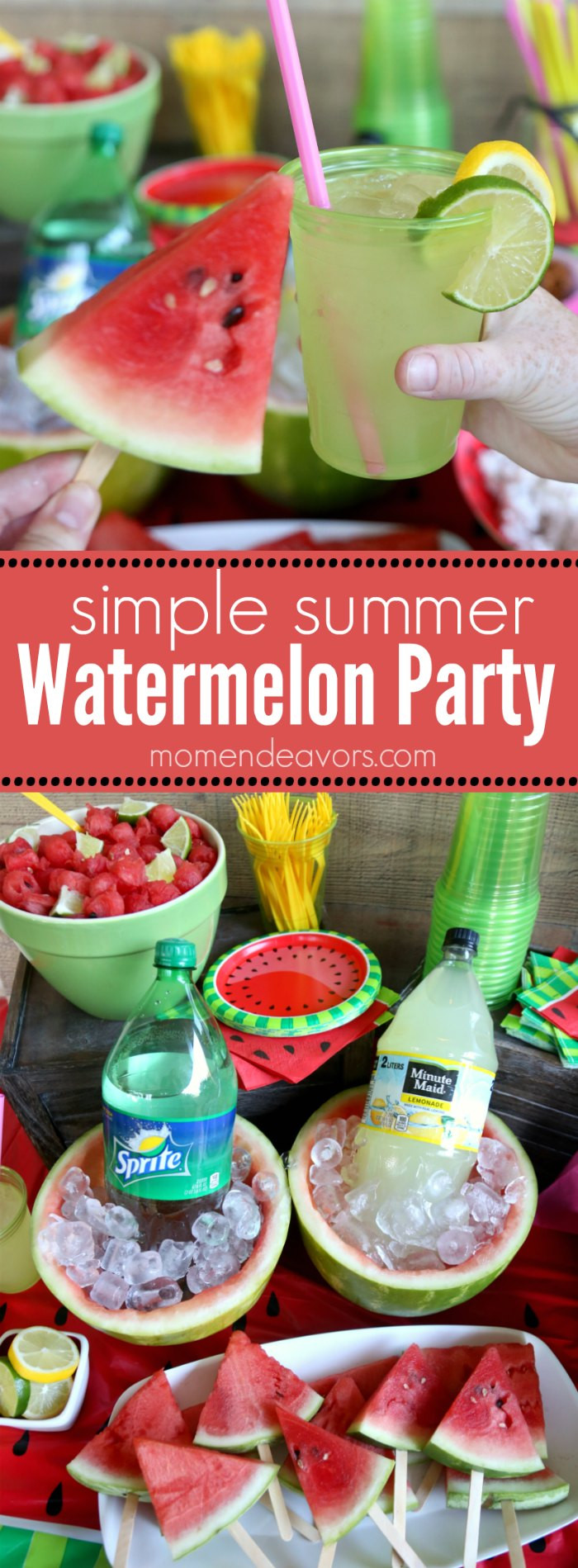 Cool Summer Party Ideas  Summer Fun Watermelon Party Ideas
