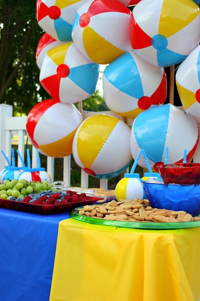 Cool Summer Party Ideas  Have a Ball Summer Party Un mon Designs