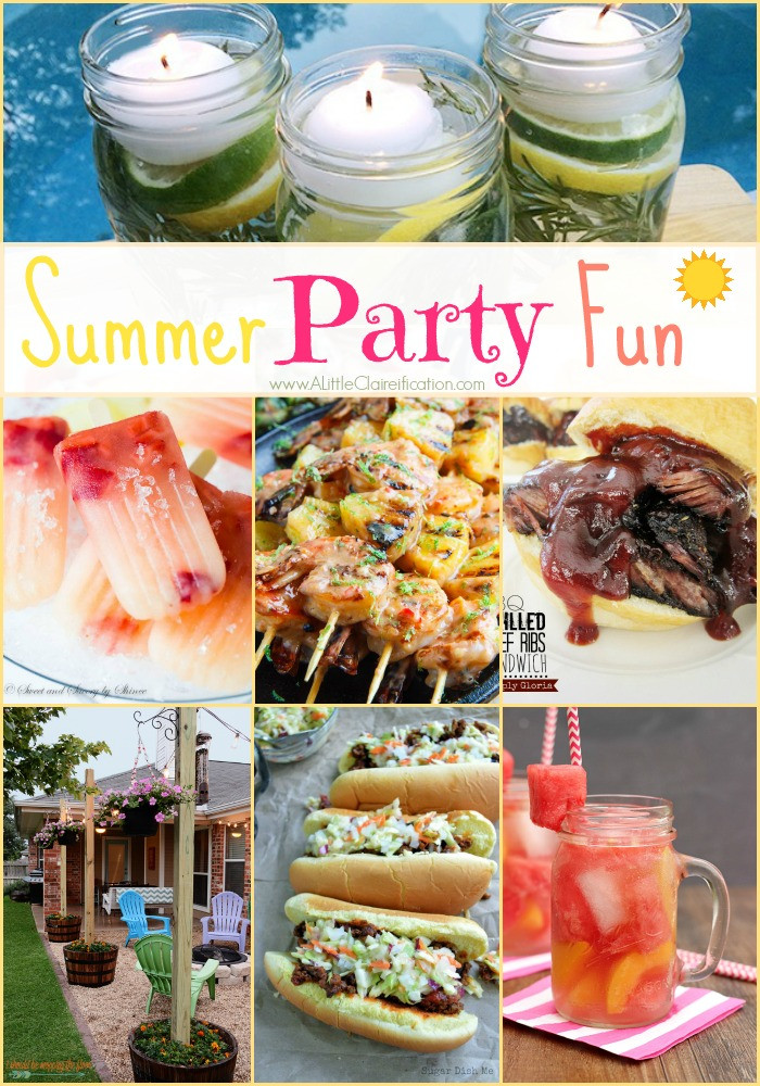 Cool Summer Party Ideas  Summer Party Fun