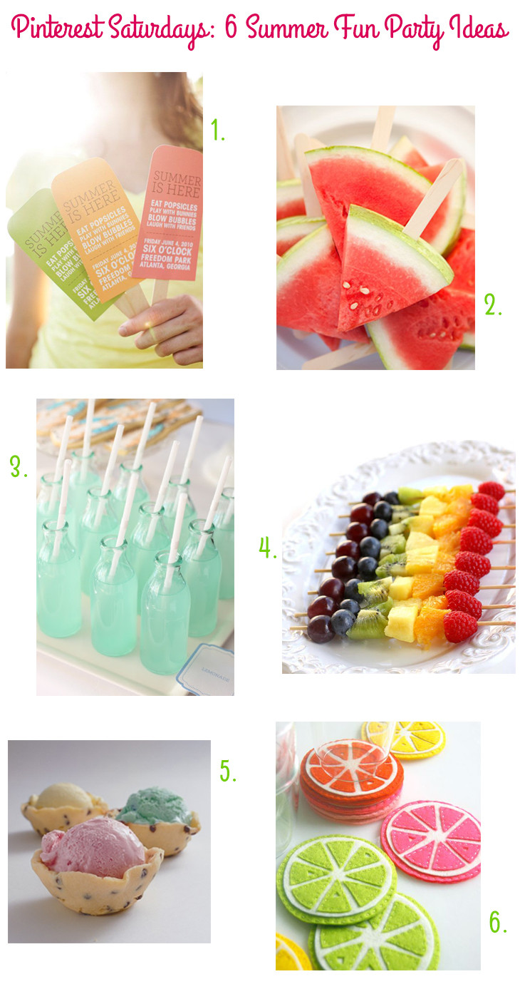 Cool Summer Party Ideas  30 Summer Fun Ideas The Crafting Chicks