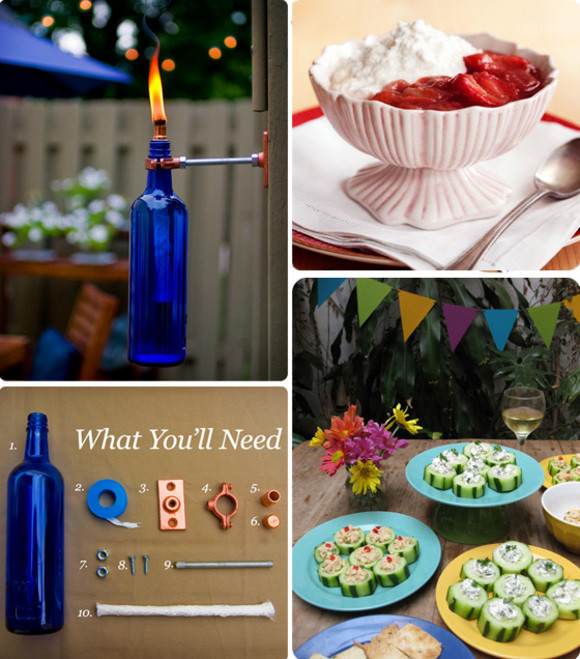 Cool Summer Party Ideas  Cool Ideas for a Summer Party on Design Sponge At Home