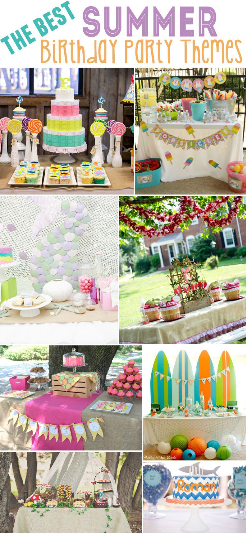 Cool Summer Party Ideas  15 Best Summer Birthday Party Themes Design Dazzle