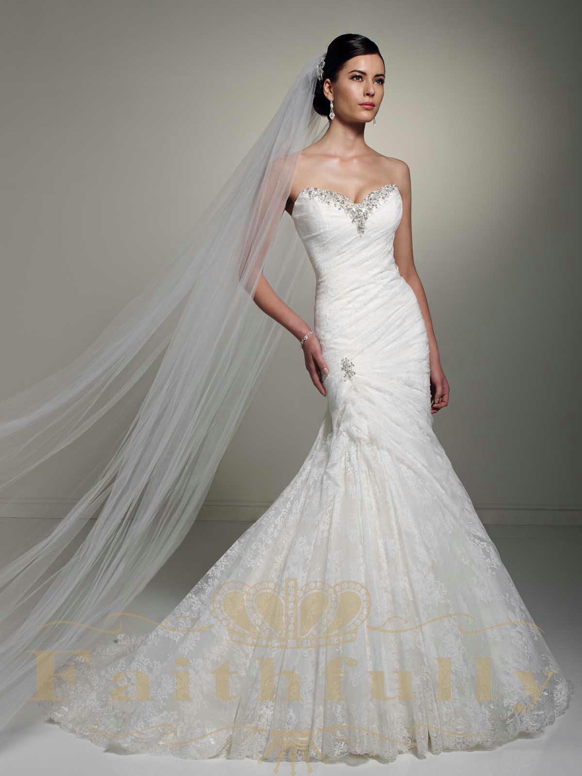 Corset Wedding Gown  Bodice Wedding Dress Sweetheart Corset Back Beaded Sequins
