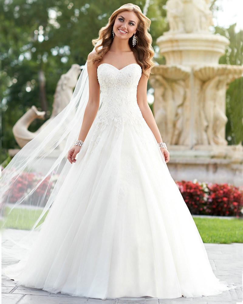 Corset Wedding Gown  Women Wedding Dress Ball Gown Princess Weding Dresses