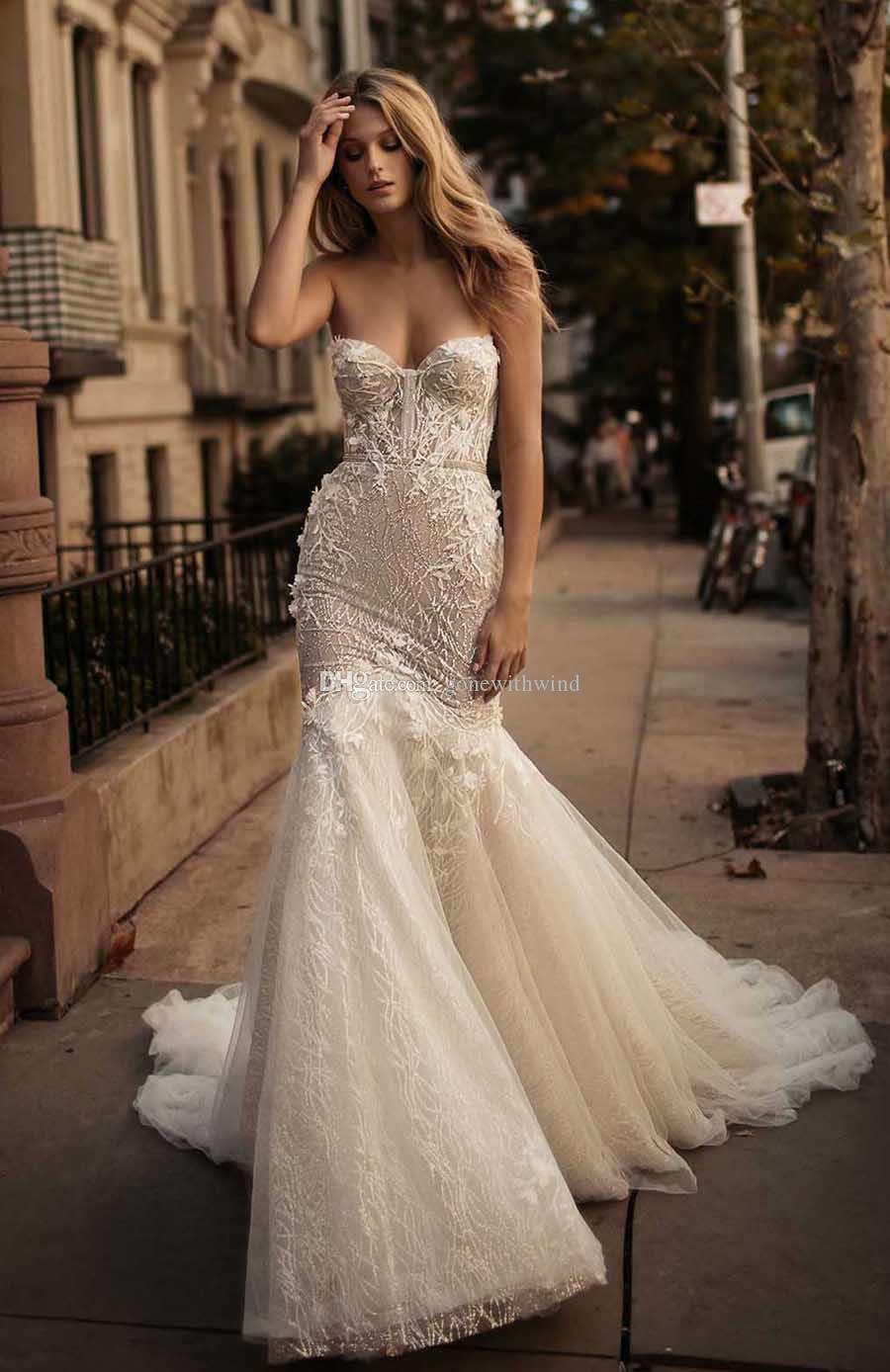 Corset Wedding Gown  2017 Berta Bridal Corset Wedding Dresses Sweetheart