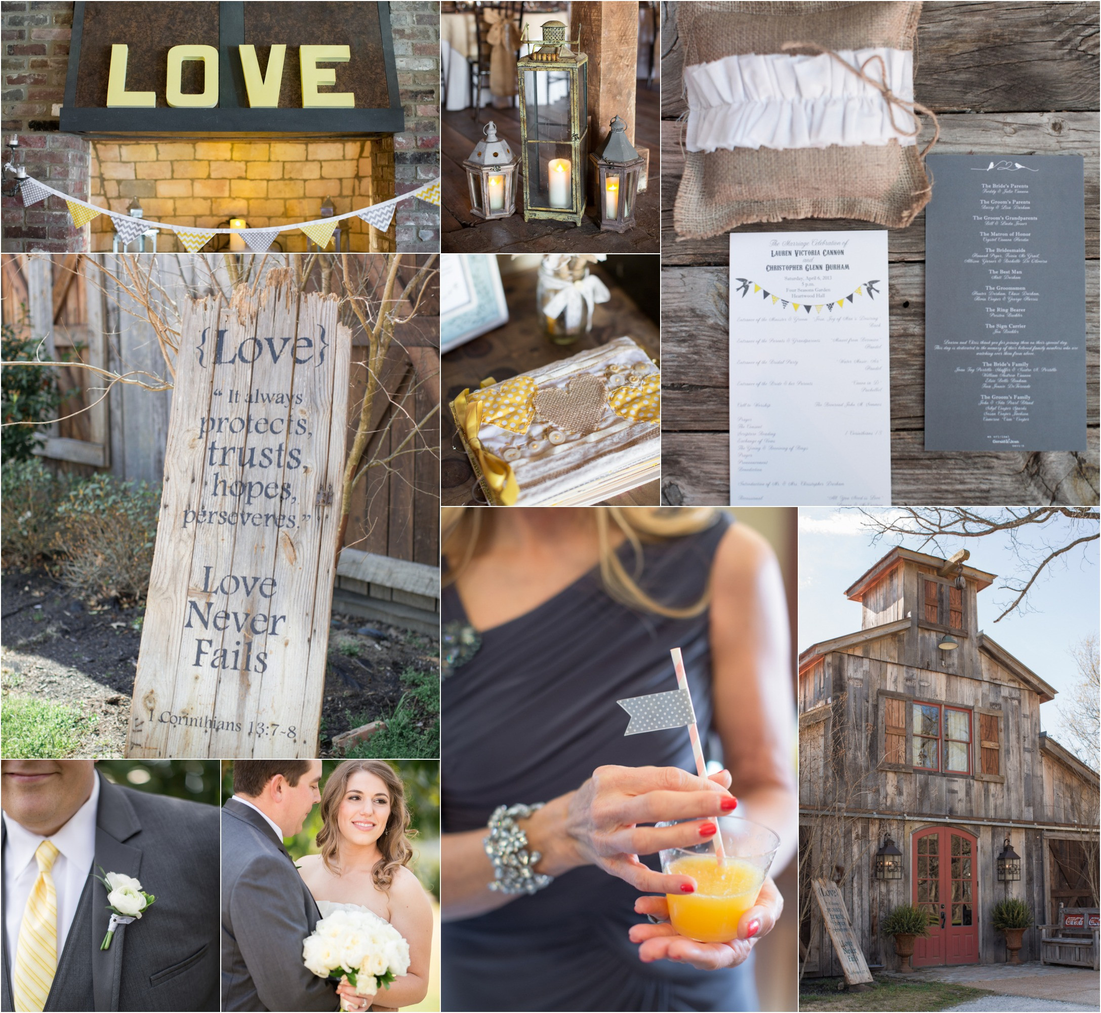 Country Themed Wedding Favors  Country Yellow Themed Wedding Rustic Wedding Chic