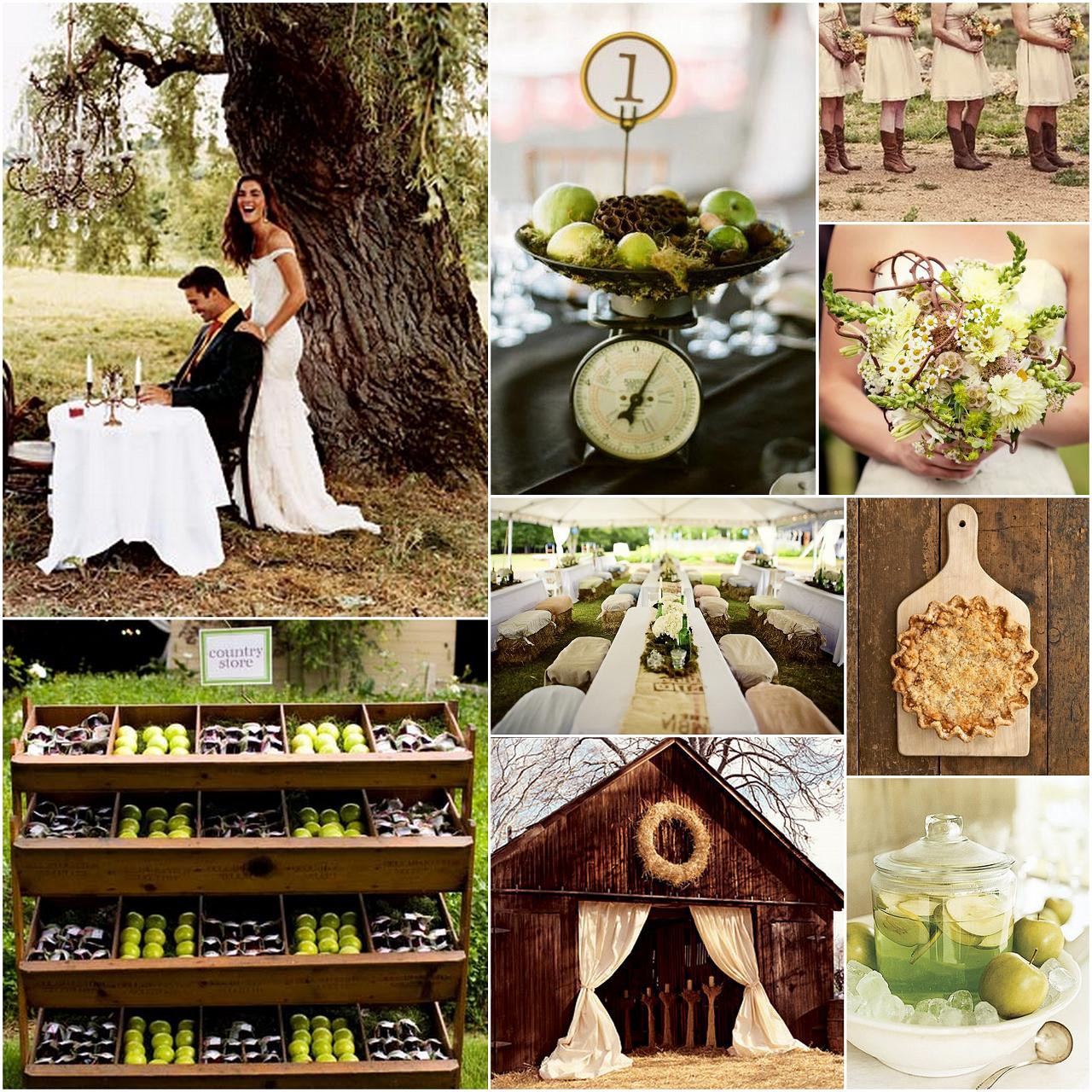 Country Themed Wedding Favors  country theme