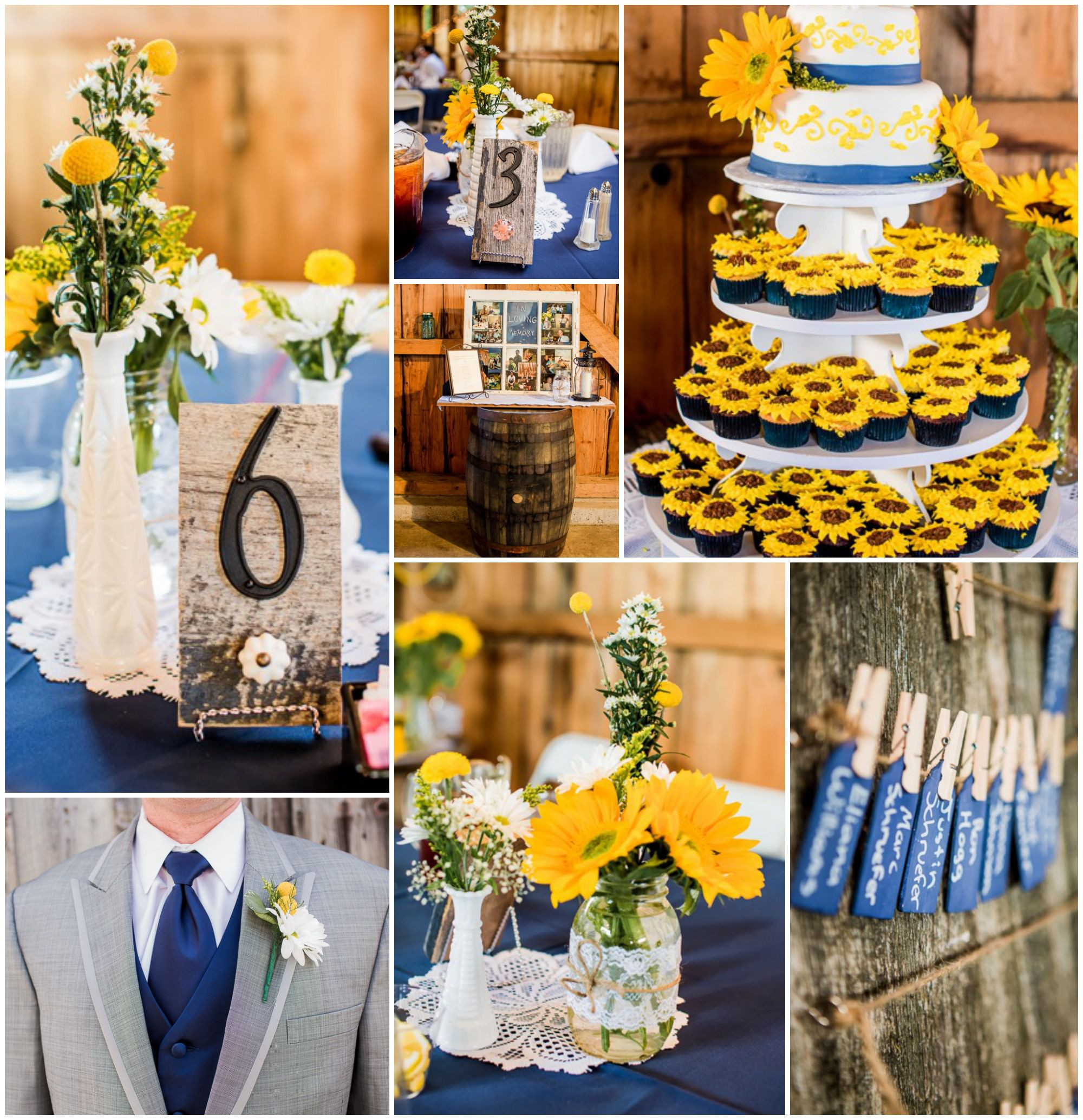 Country Themed Wedding Favors  Yellow Country Wedding Rustic Wedding Chic