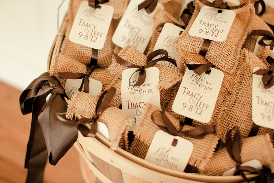 Country Themed Wedding Favors  Burlap Themed Wedding Rustic Wedding Chic