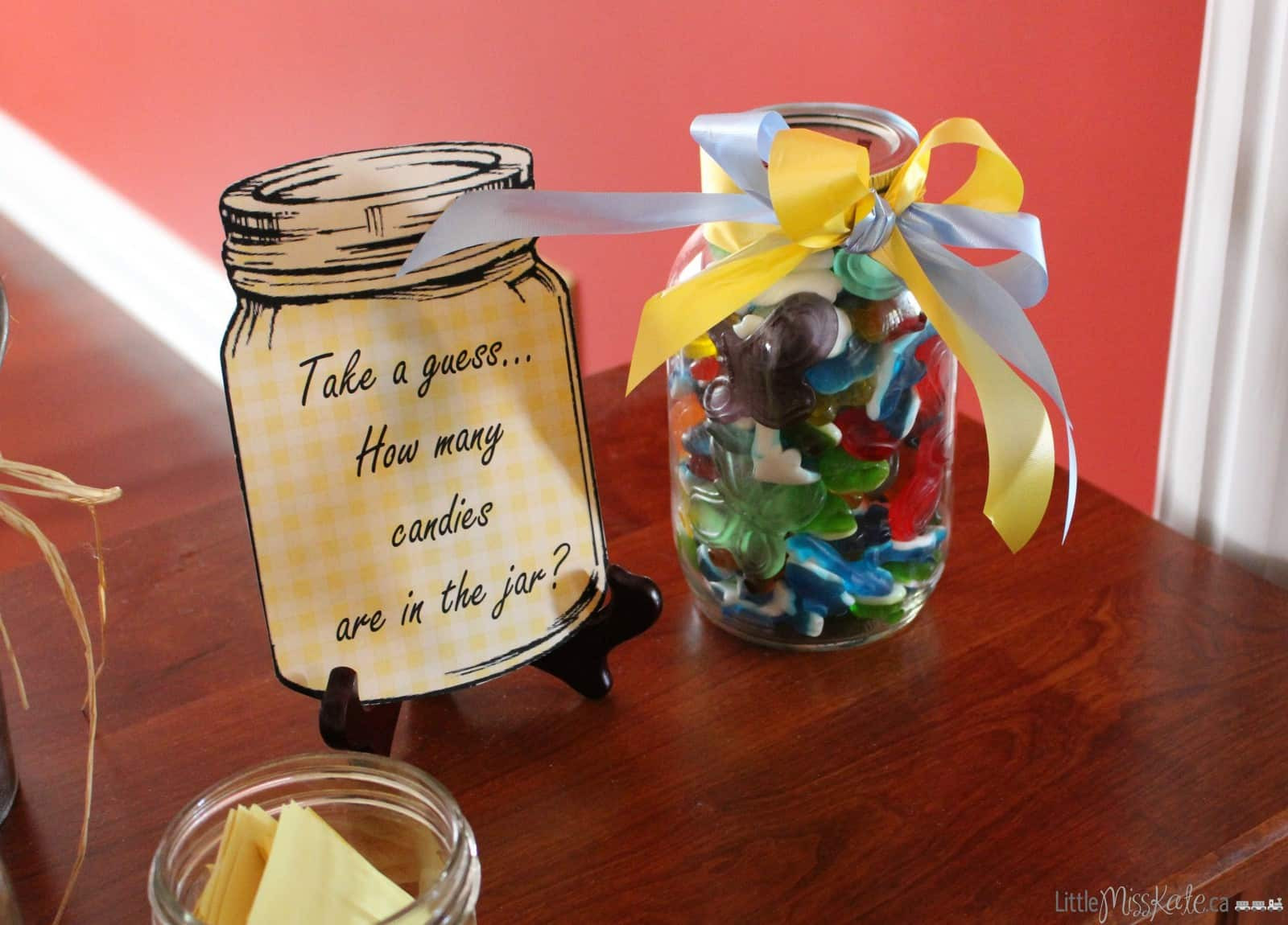 Country Themed Wedding Favors  Rustic Country Themed Bridal Shower Ideas Little Miss Kate
