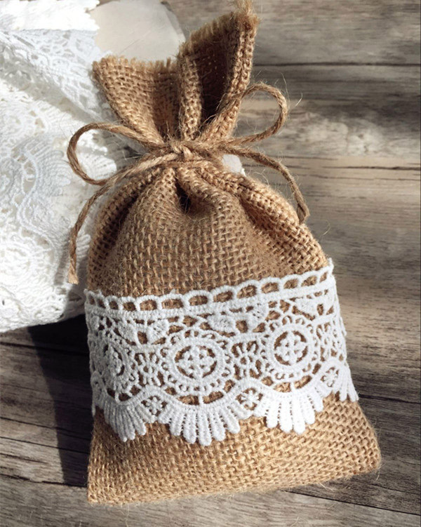 Country Themed Wedding Favors  Top 20 Country Rustic Lace and Burlap Wedding Ideas