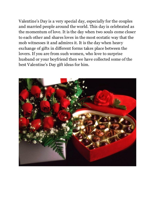Couples Gift Ideas For Him  30 best valentine's day t ideas for him