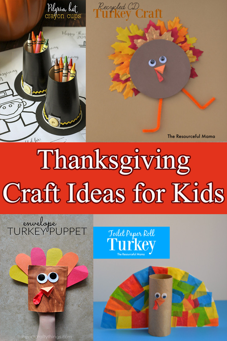 Craft For Kids  Thanksgiving Crafts for kids