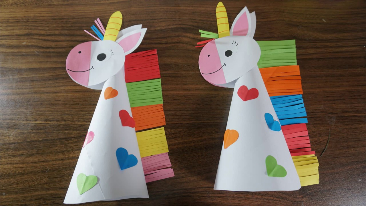 Craft For Kids  Paper unicorn crafts for kids paper craft art