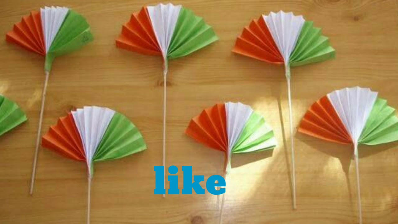 Craft For Kids  Republic day crafts for kids