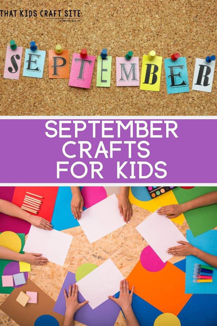 Craft Project For Toddler  September Crafts for Kids Easy Preschool Crafts That