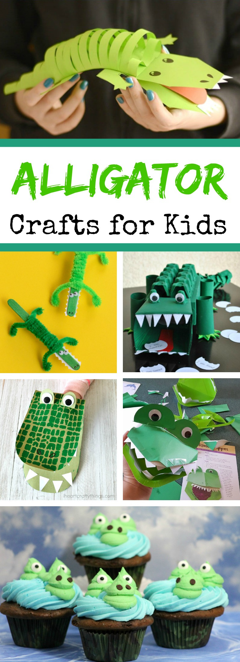 Craft Project For Toddler  Alligator Crafts for Kids 8 Exciting Alligator Craft