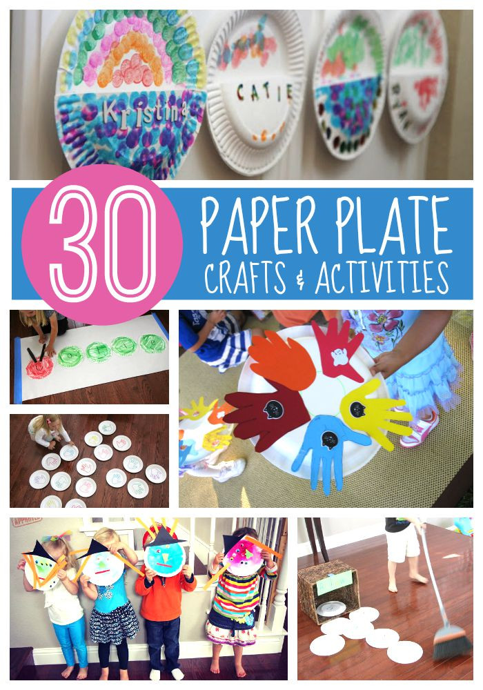 Craft Project For Toddler  Toddler Approved 30 Paper Plate Crafts & Activities for