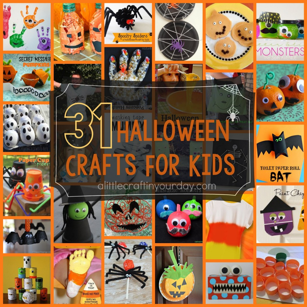 Craft Project For Toddler  Halloween Kid Crafts A Little Craft In Your Day