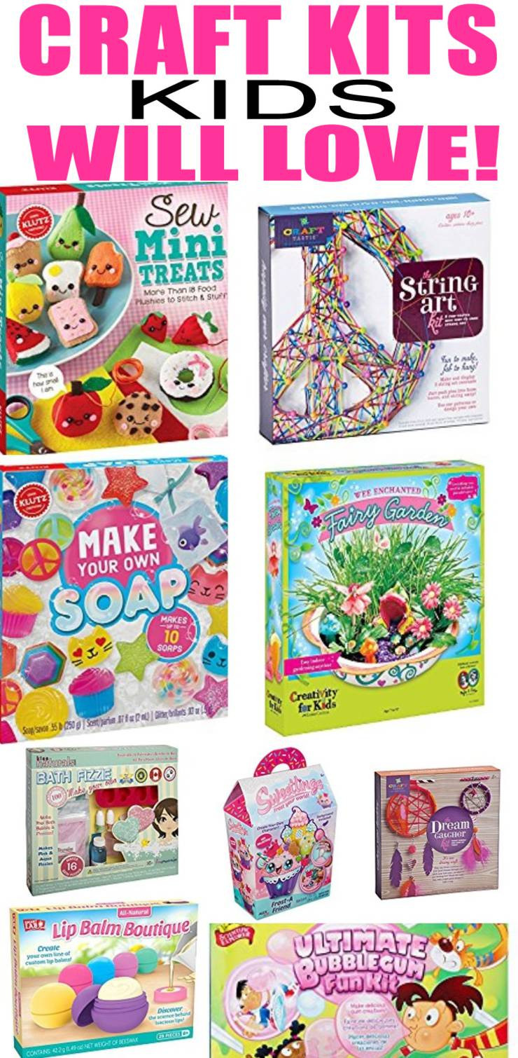 Crafts Kits For Kids  Craft Kits That Kids Will Love