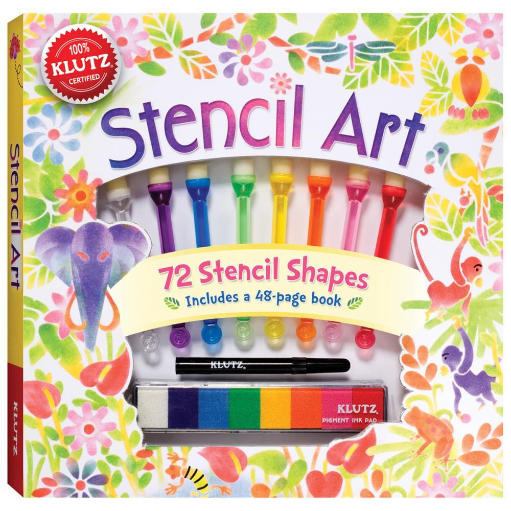 Crafts Kits For Kids  Stencil Art Kit for Kids Easy & Fun Klutz Craft Kits