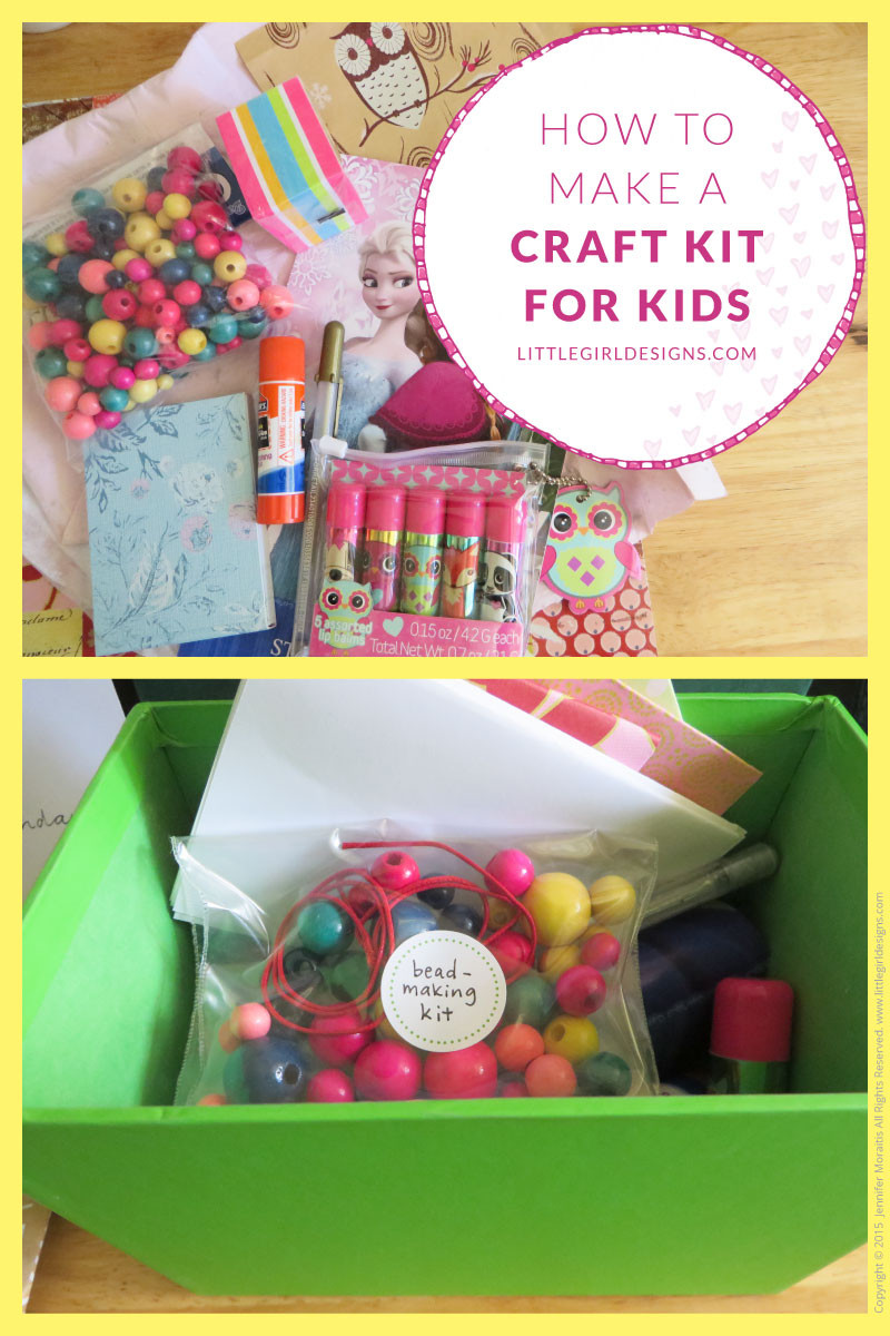 Crafts Kits For Kids  How to Make a Craft Kit for kids Jennie Moraitis