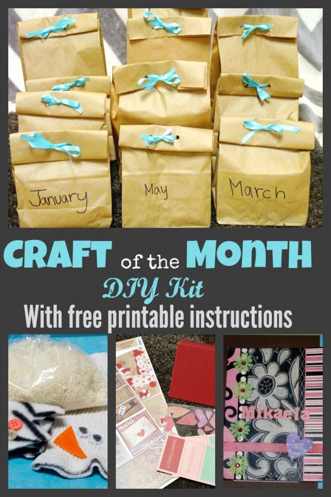 Crafts Kits For Kids  DIY Kids Craft Subscription Kit