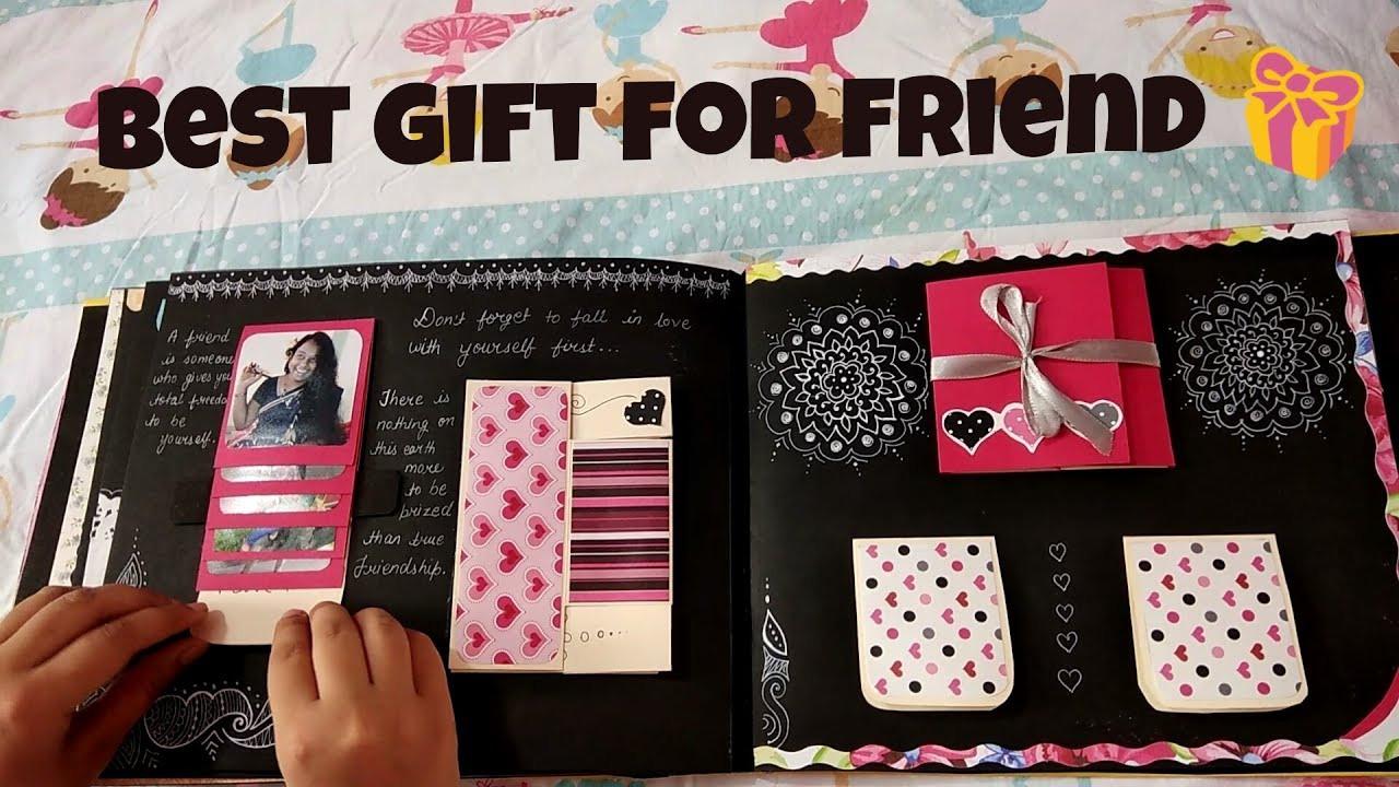 Creative Gift Ideas For Best Friend  Best t for best friend Craft Ideas