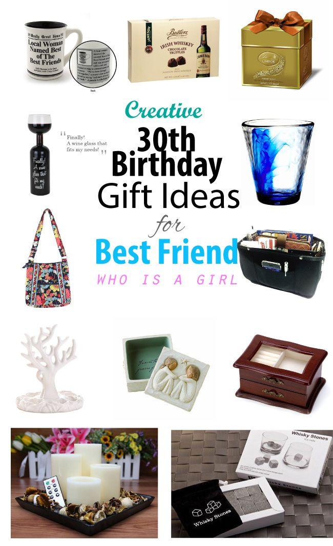 Creative Gift Ideas For Best Friend  Creative 30th Birthday Gift Ideas for Female Best Friend