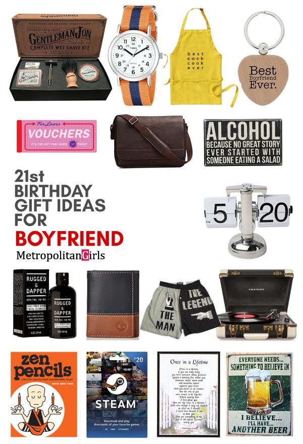 Creative Gift Ideas For Boyfriend  20 Best 21st Birthday Gifts for Your Boyfriend