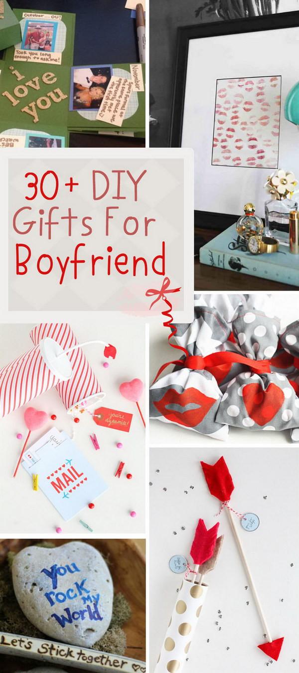 Creative Gift Ideas For Boyfriend  30 DIY Gifts For Boyfriend 2017