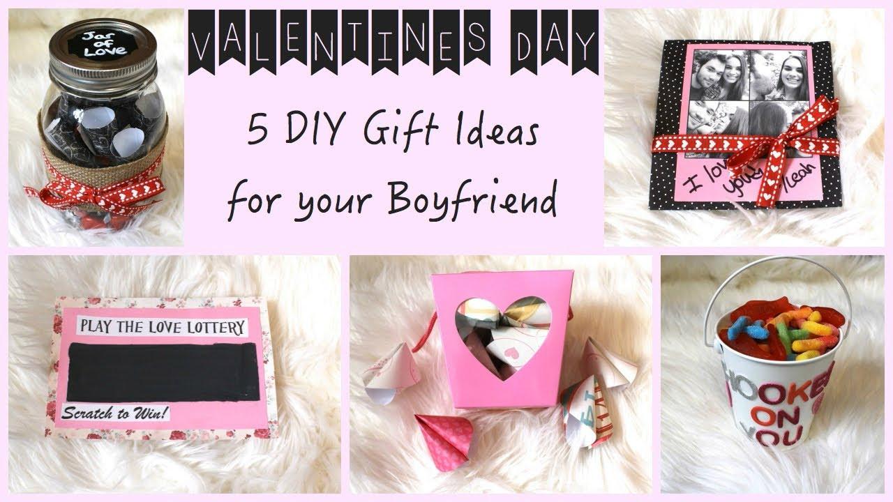 Creative Gift Ideas For Boyfriend  5 DIY Gift Ideas for Your Boyfriend