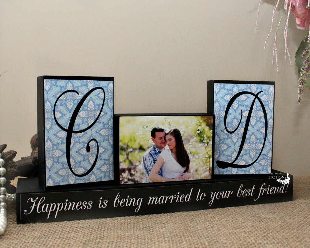 Creative Gift Ideas For Couples  Personalized Unique Wedding Gift for Couples by TimelessNotion