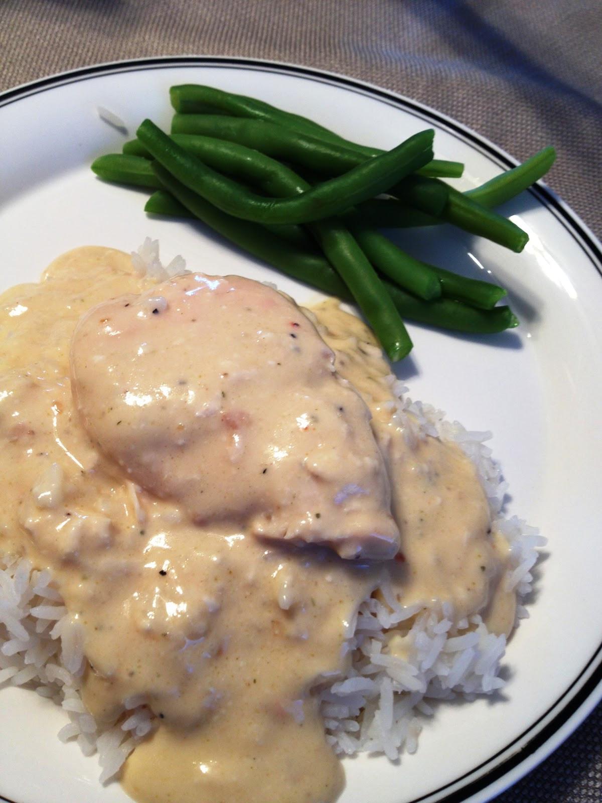 Crockpot Chicken Recipes With Cream Of Mushroom Soup  Adventures Creamy Crock Pot Chicken