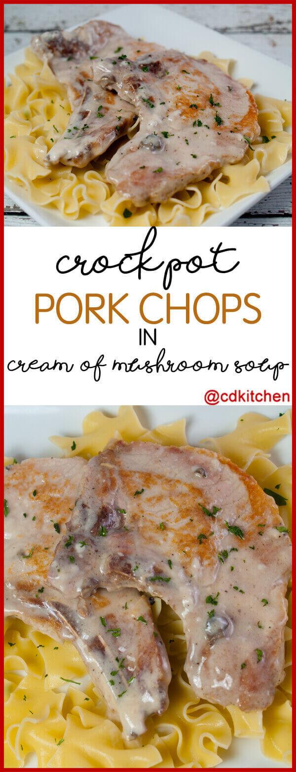 Crockpot Chicken Recipes With Cream Of Mushroom Soup  Crock Pot Pork Chops In Cream Mushroom Soup Recipe from