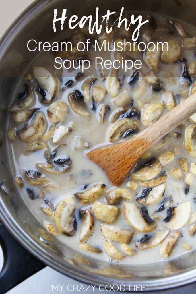 Crockpot Chicken Recipes With Cream Of Mushroom Soup  Healthy Cream Mushroom Soup